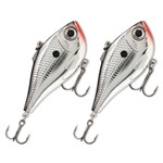Rapala RPR05CH (2-Pack) Ripping Rap 05 Chrome 266210-5